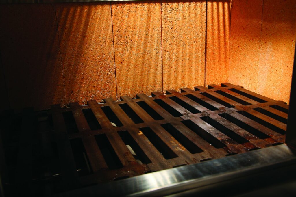commercial grill rack